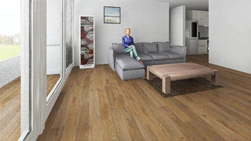 Woonam apartment Interior Design Render