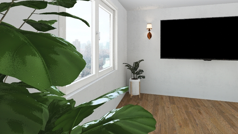 The Plant Thing Interior Design Render