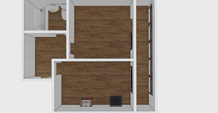 1-комн_0435 Interior Design Render