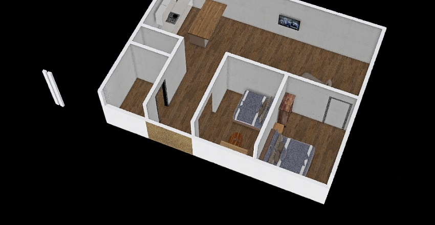 255 Main #22A - MR Interior Design Render