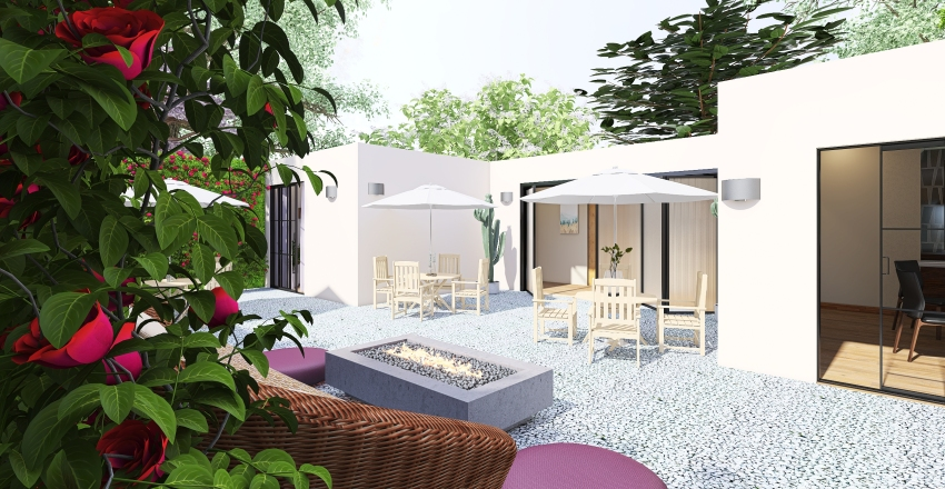 House of peace Interior Design Render