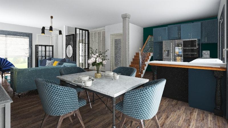 dona new kitchen L Interior Design Render