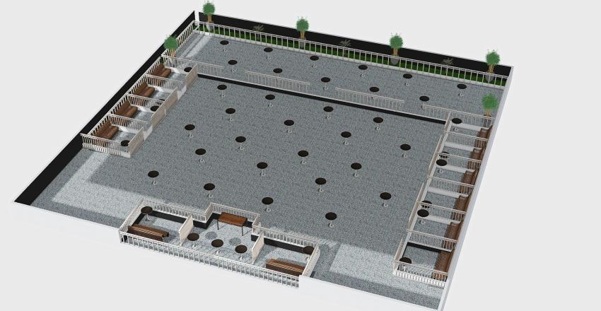 zen club Interior Design Render