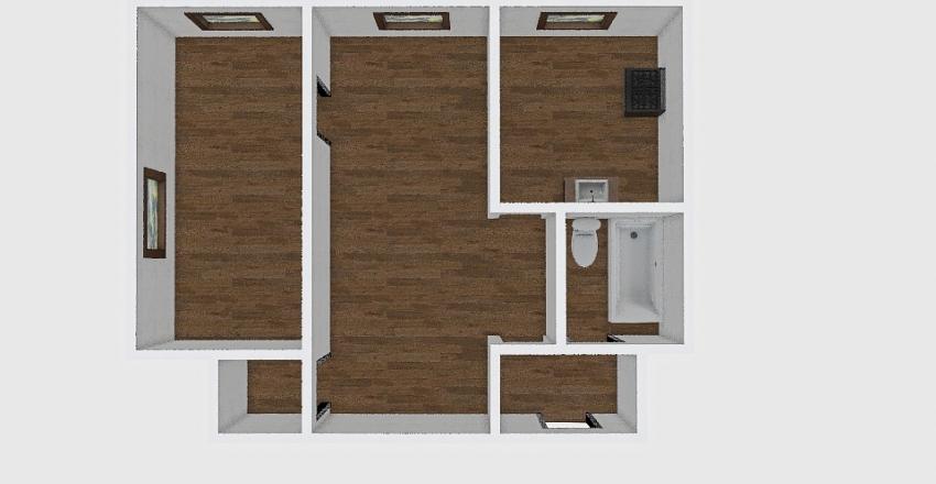 2-комн_001_64 Interior Design Render
