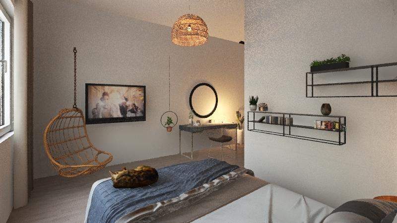 sypialnia2 Interior Design Render