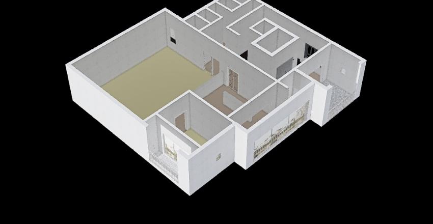 두리 제안서 2층(계단수정안) REV1 Interior Design Render