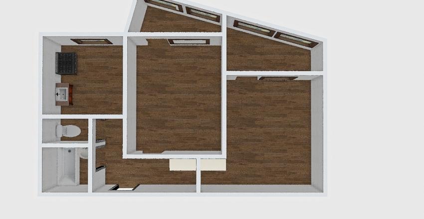 2-комн_039_19_4 Interior Design Render