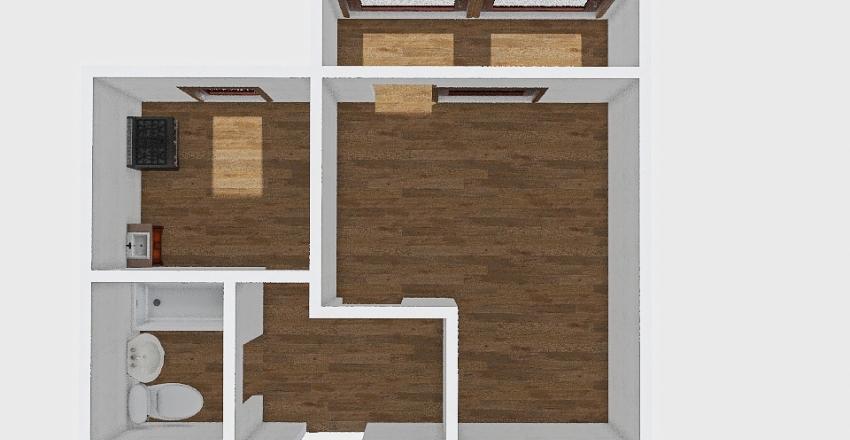 1-комн_0436 Interior Design Render