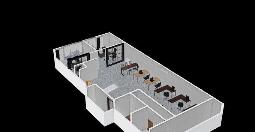 辦公室 Interior Design Render