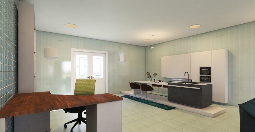PROJECT 007- DARGREEN Interior Design Render