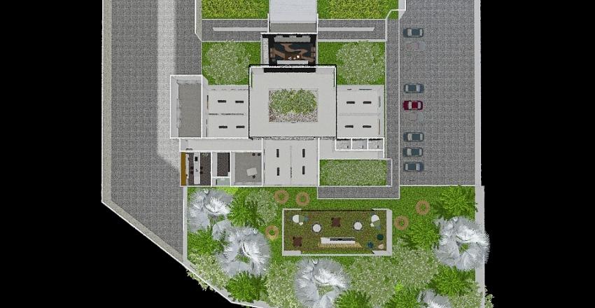 GALERIA DE ARTE  Interior Design Render