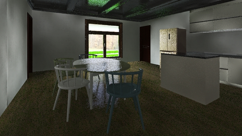 Lakefront House GW Interior Design Render