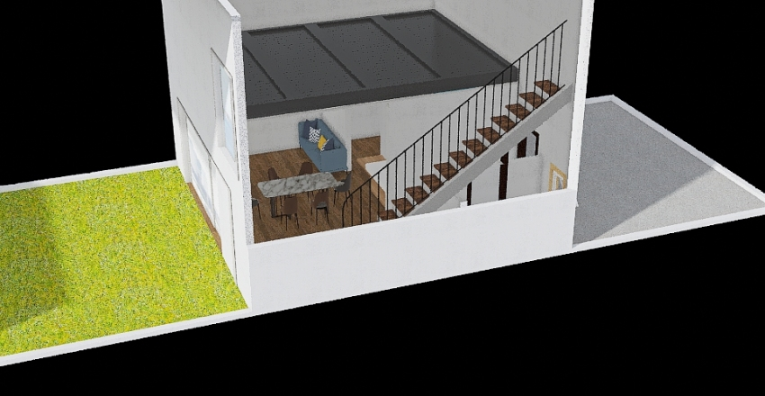 casa 2.0 Interior Design Render