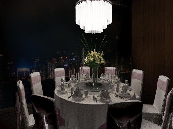 景觀餐酒館 Interior Design Render