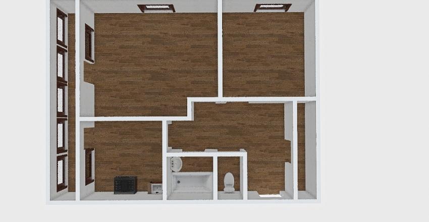 2-комн_0416 Interior Design Render