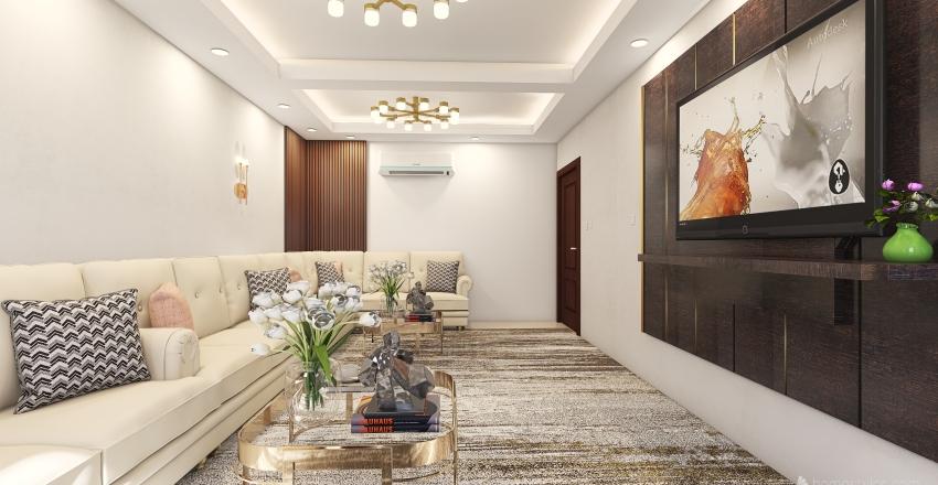 HALL DESIGN REAM Interior Design Render