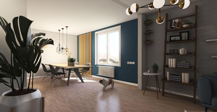 кухня студия Interior Design Render