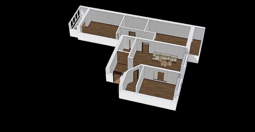 план квартиры1 Interior Design Render