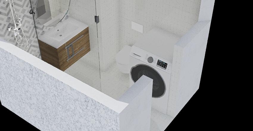 łazienka mieszkanie Interior Design Render