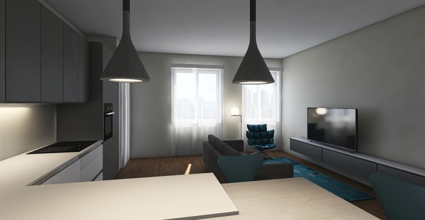 Cavezzali 4 O Full  Interior Design Render