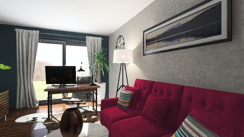 nowy dom Interior Design Render