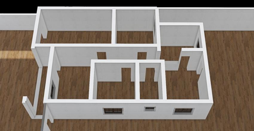 Casa Velha OLD Planta Interior Design Render