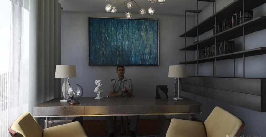 BUREAU NASSIROU  Interior Design Render