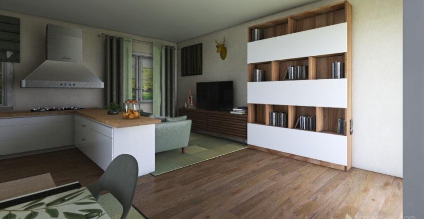 Salone Progetto 4 Interior Design Render