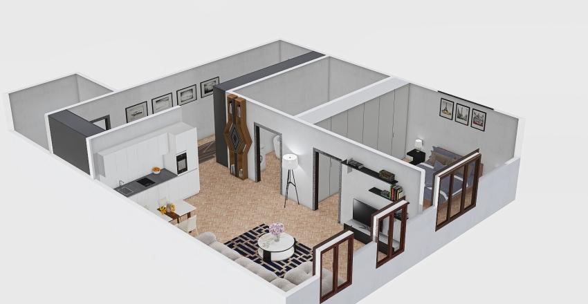 Petrzalka Interior Design Render
