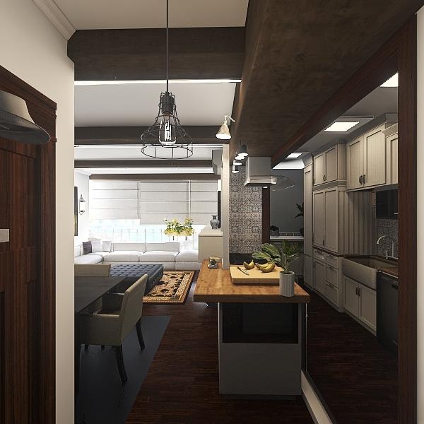 Nosso apto V7 Interior Design Render
