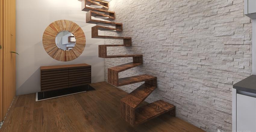 winter Interior Design Render