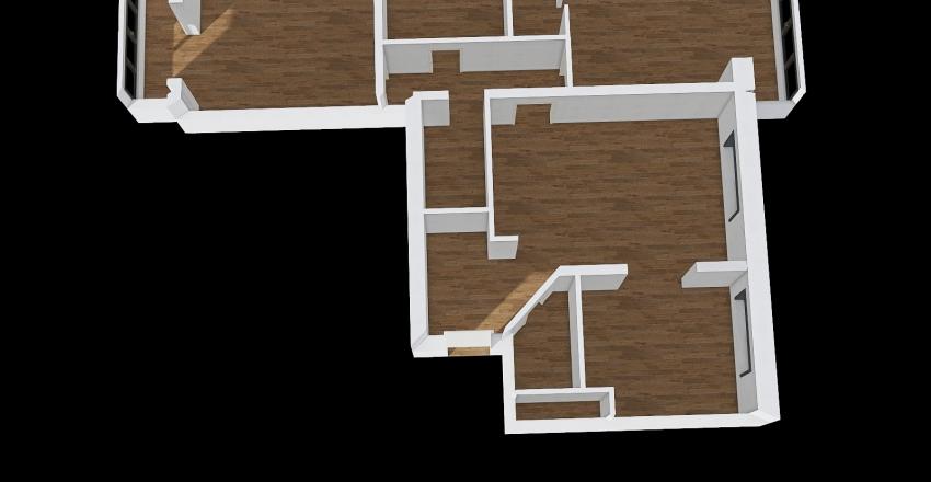 Квартира школы Interior Design Render
