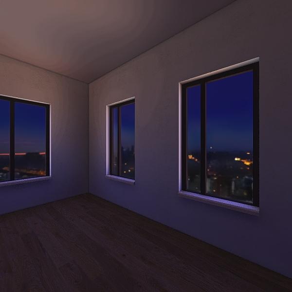 Первая комната по заданию.  Interior Design Render
