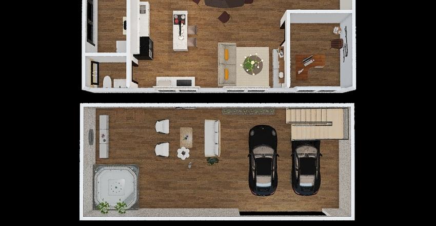 lu triplex Interior Design Render