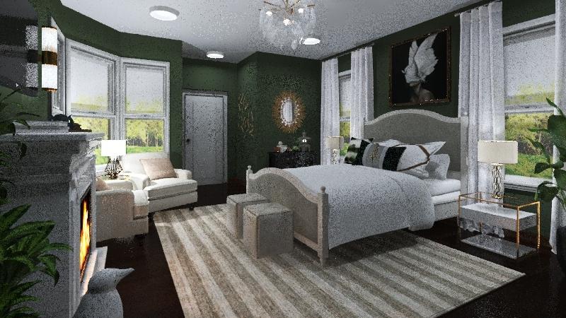 Vickery Rebuild - 2nd floor Interior Design Render