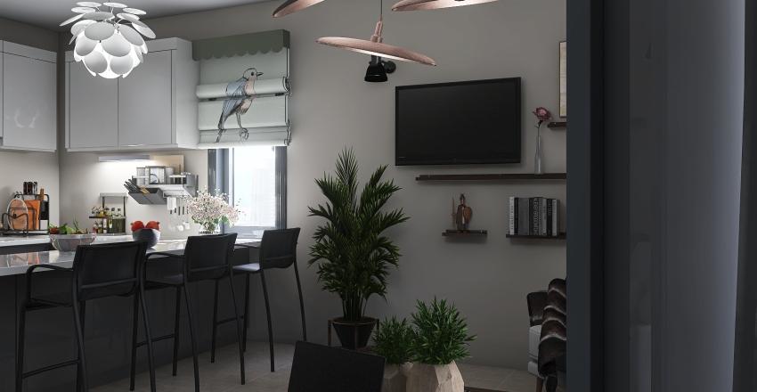 smaall Interior Design Render