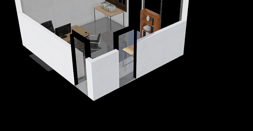 Bureau Interior Design Render