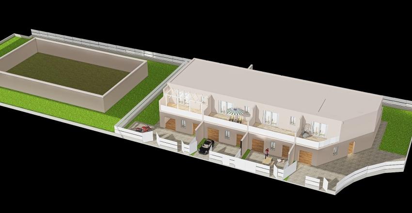 ZANARDI VILLA FERRI Interior Design Render