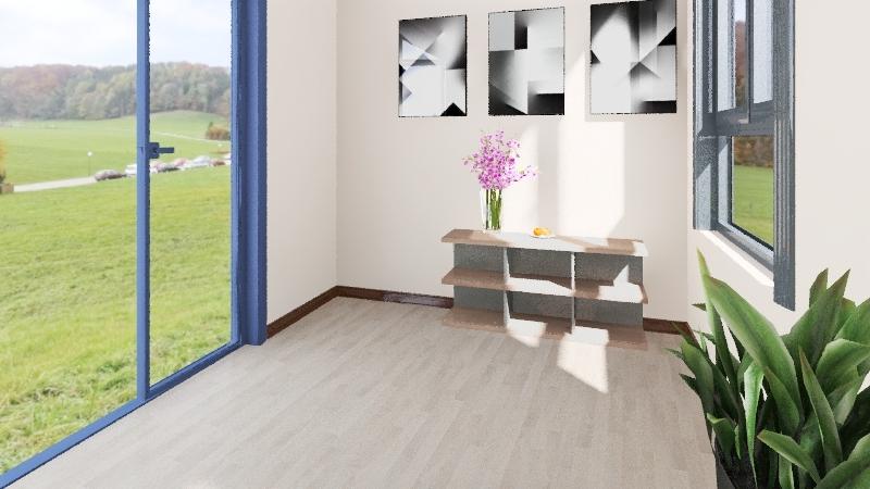 Юлиана учебный Interior Design Render