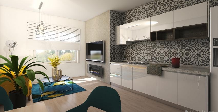 Libušina_ 1NP Interior Design Render