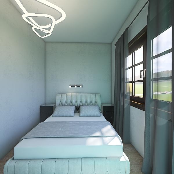 спальная набросок Interior Design Render