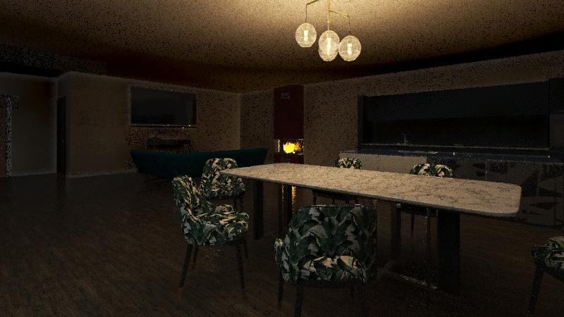 my home Interior Design Render