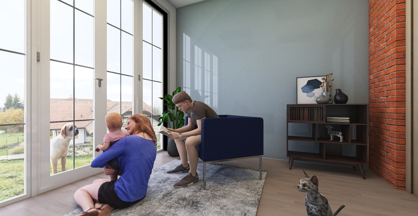 Environment room Interior Design Render