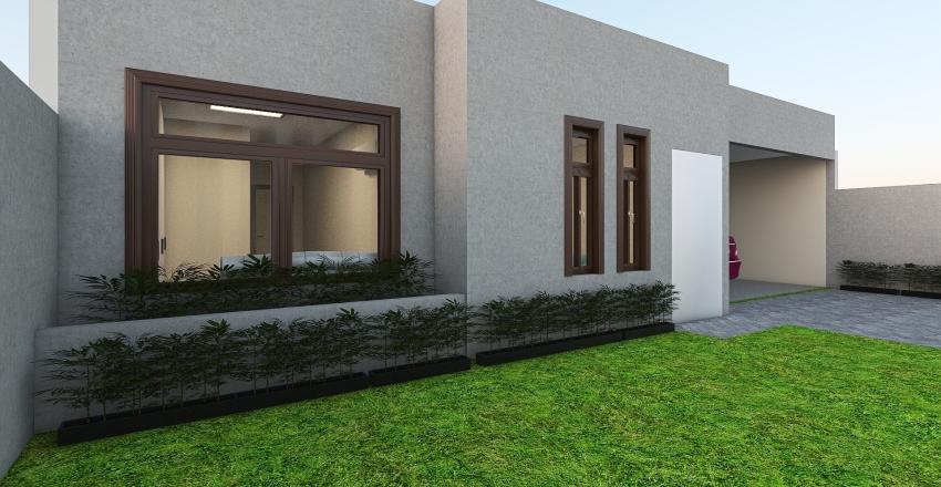 Casa Ecoville - Varanda Interior Design Render