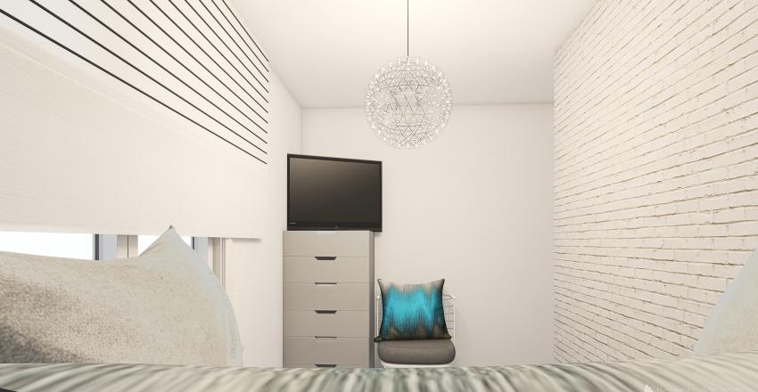 Small child's bedroom Interior Design Render