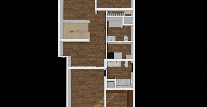 Alysia's house floor 2 Interior Design Render