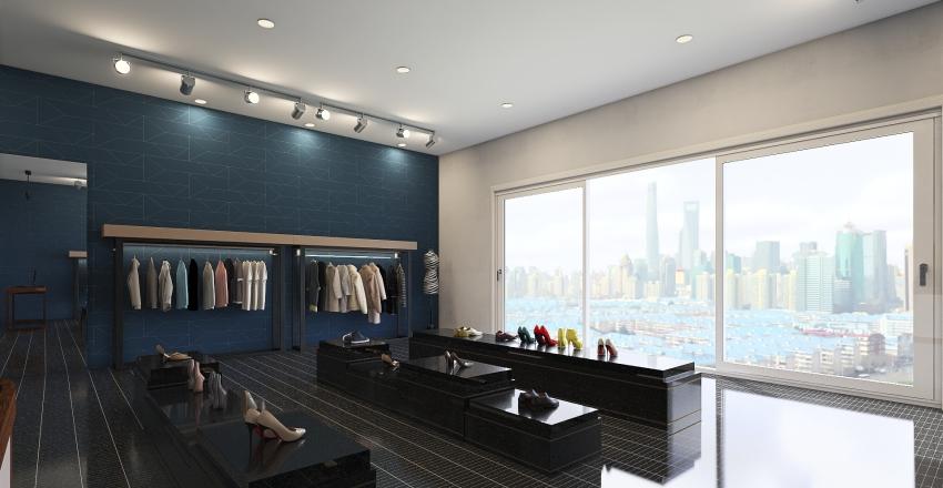 fashion house Interior Design Render
