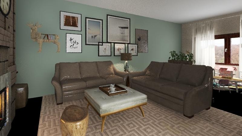 Loubna appartement Interior Design Render