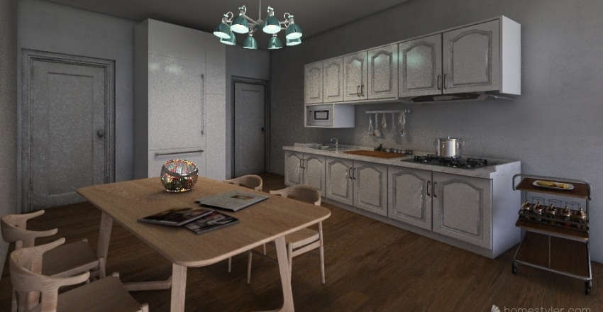 local luciano Interior Design Render