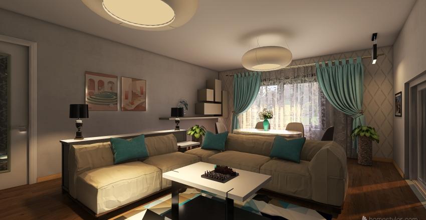 Квартира номер 1 Interior Design Render